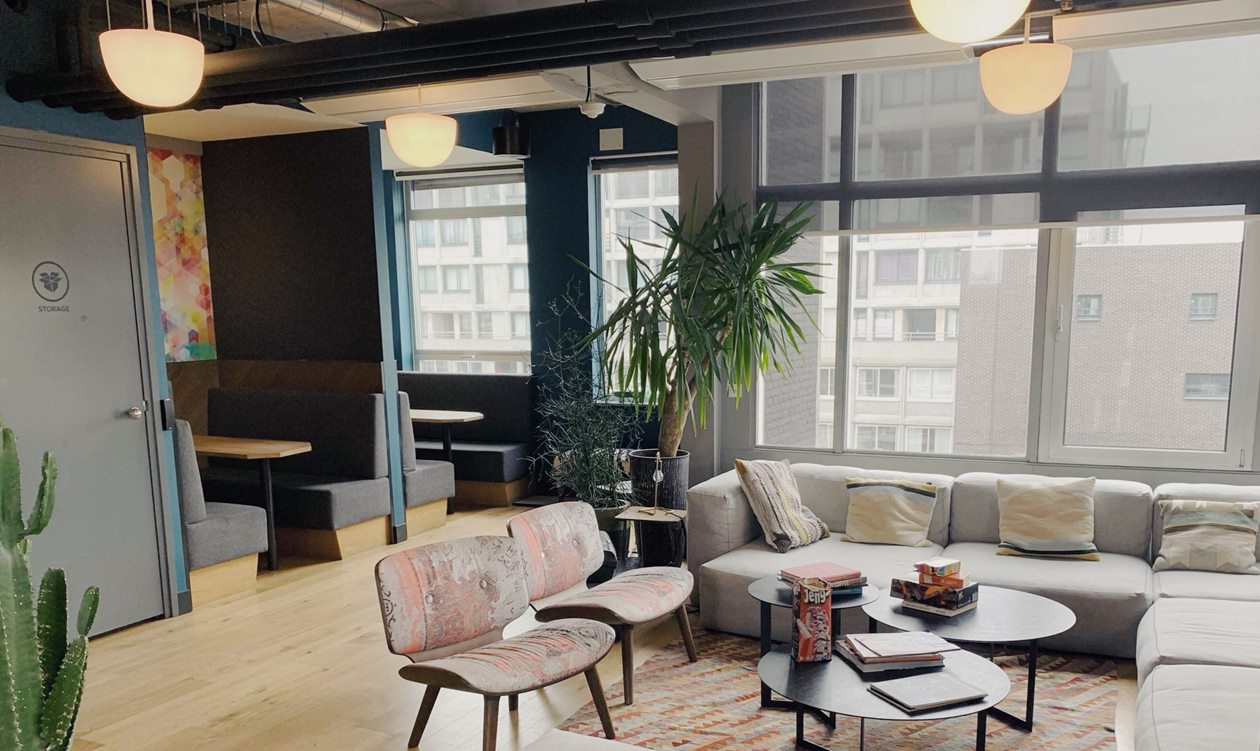 WeWork location Amsterdam