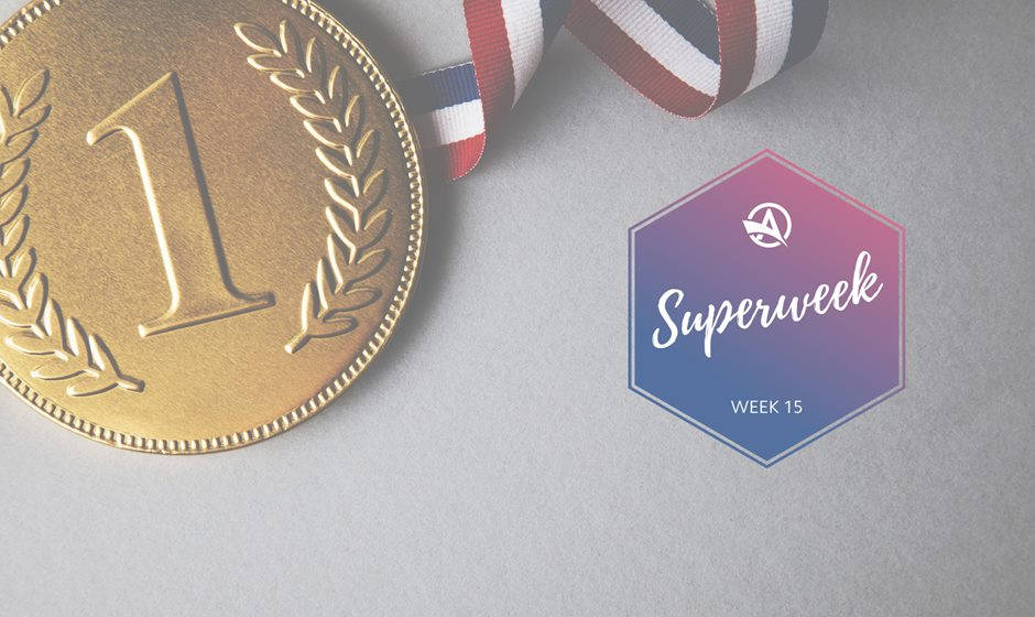 Superweek Competition Medal